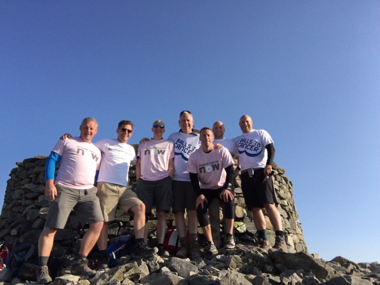 The Bears At The Peak Of Scafell Pike