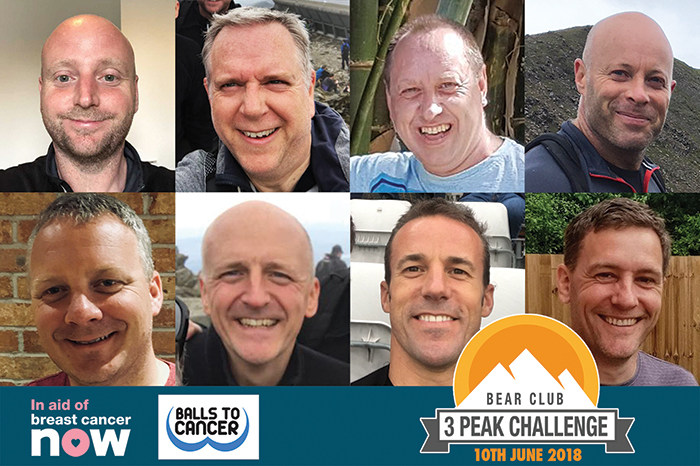 The Bear Club's 3 Peak Challenge
