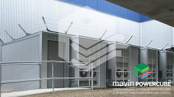 Mavin Powercube DataCentre Installation - London City Airport 1