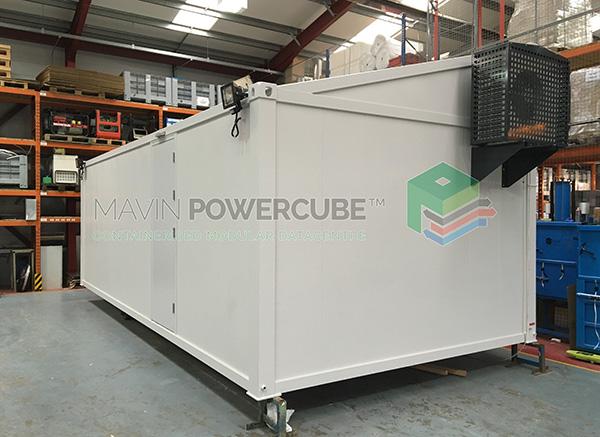 Mavin Powercube DataCentre Installation