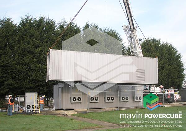 Mavin Powercube DataCentre Installation 4