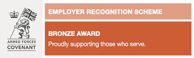 Defence Employer Recognition Scheme Bronze Award
