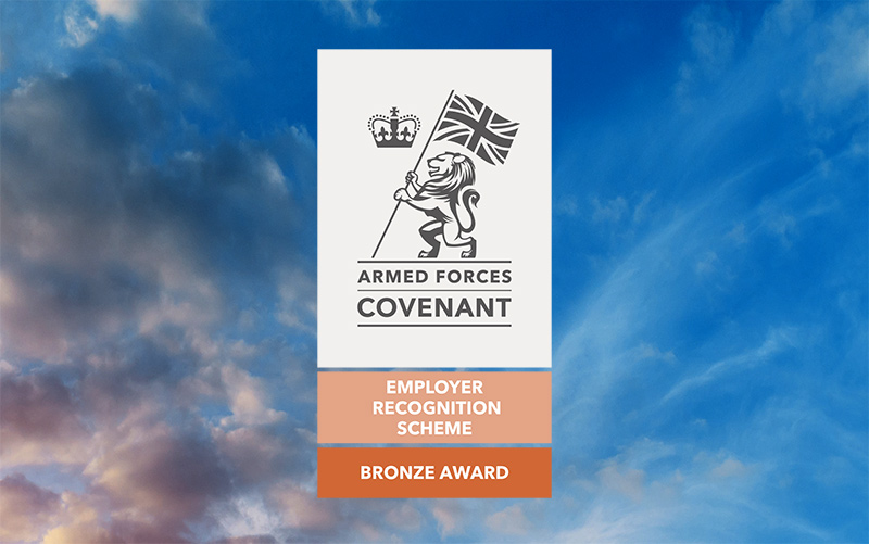 Proudly Supporting Those Who Serve: Mavin Awarded Bronze Award From Defence Employer Recognition Scheme