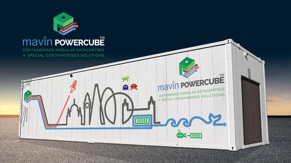 Mavin Powercube containerised modular data centres