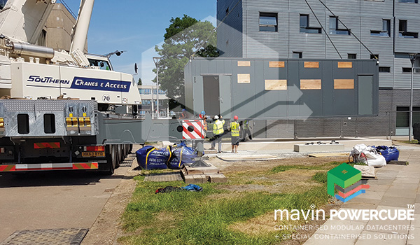Mavin Powercube Installation - Brunel University2