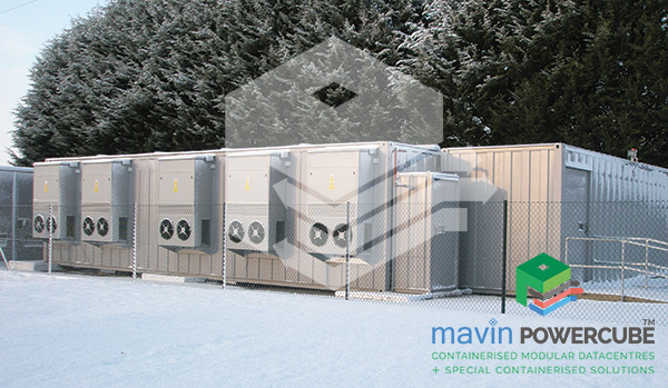 Mavin Powercube DataCentre Installation 2