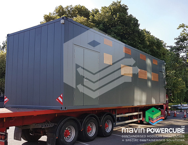 Mavin Powercube Installation - Brunel University