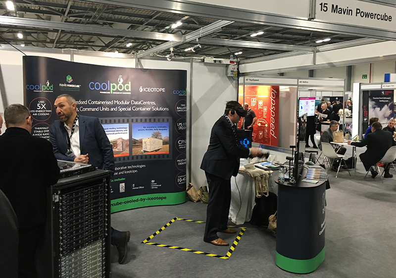 Mavin Powercube Teams Up With Iceotope To Showcase DataCentre Solutions For Defence At DPRTE