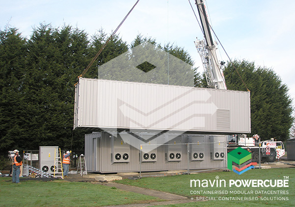 Mavin Powercube DataCentre Installation 4