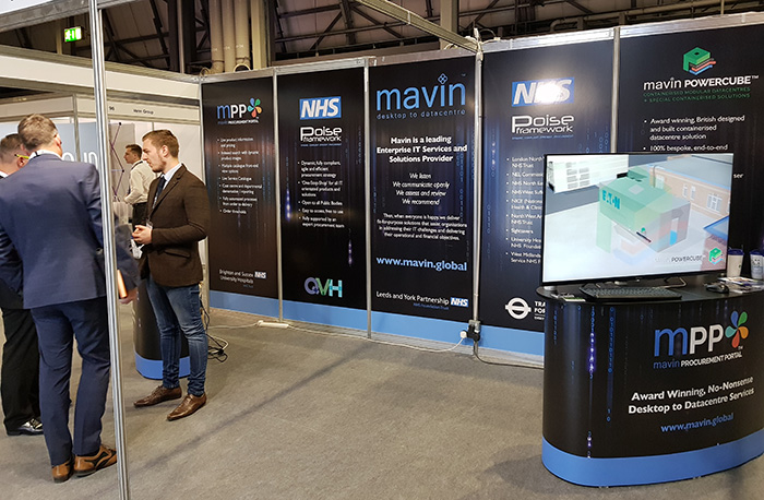 Mavin MPP Attracts Lots Of Interest At Leading NHS Procurement Event: P4H England