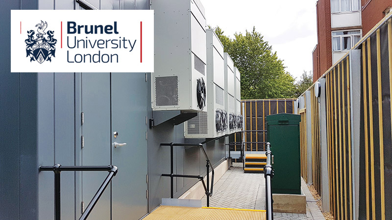 Mavin Powercube Case Study: Brunel University London Containerised Modular Datacentre POP