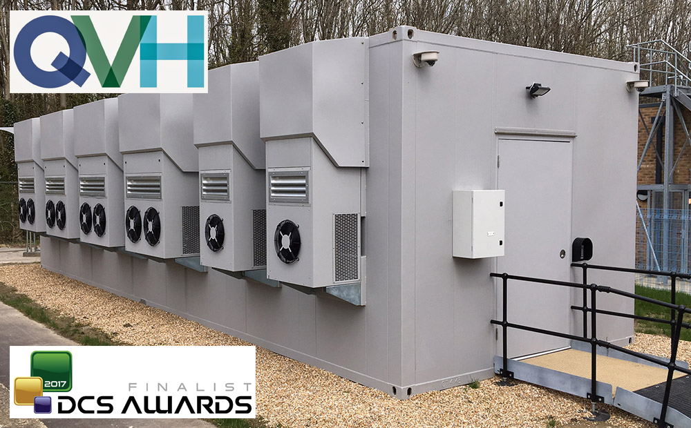 Mavin Powercube Case Study: Queen Victoria Hospital NHS Trust Containerised DataCentre Project