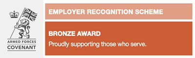 Defence Employer Recognition Scheme Bronze Award