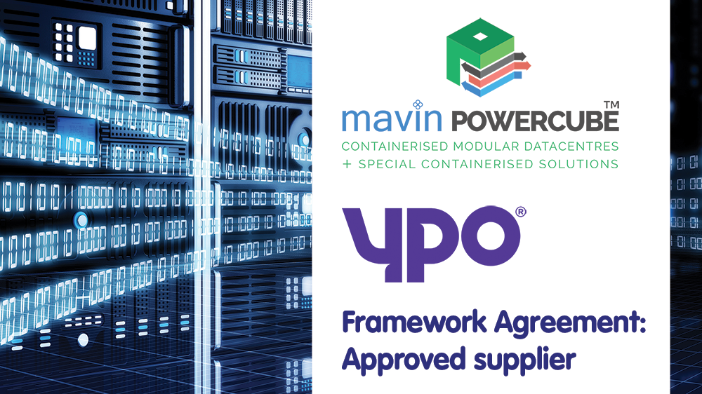 Mavin Powercube Selected As An Approved Supplier On The New Public Sector YPO Framework