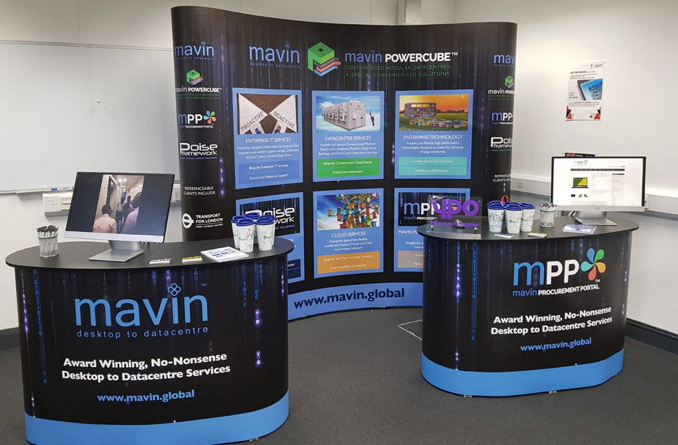 Mavin On Stand To Talk Tech At The Healthcare Technology Conference