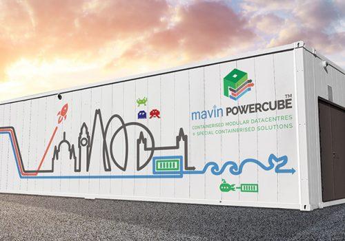 Mavin Powercube Containerised Modular Data Centre