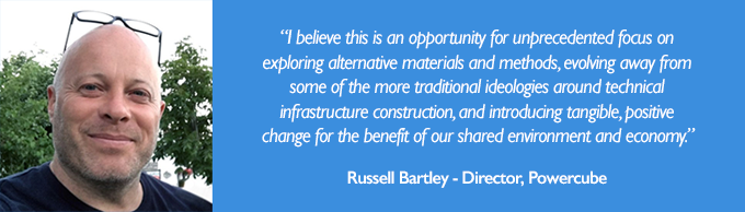 Quote from Russell Bartley of Powercube