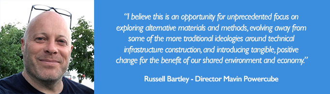 Quote from Russell Bartley of Mavin Powercube