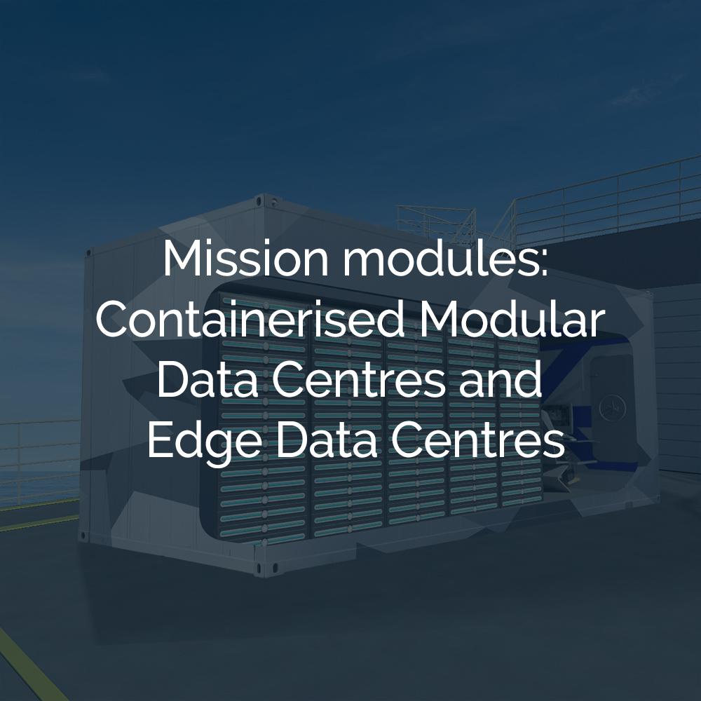 Containerised Modular Data Centres