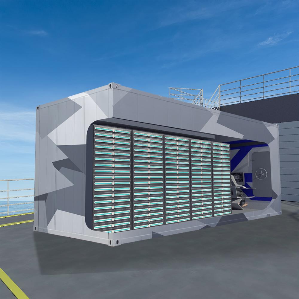 Mission Modules: Containerised Modular Data Centres