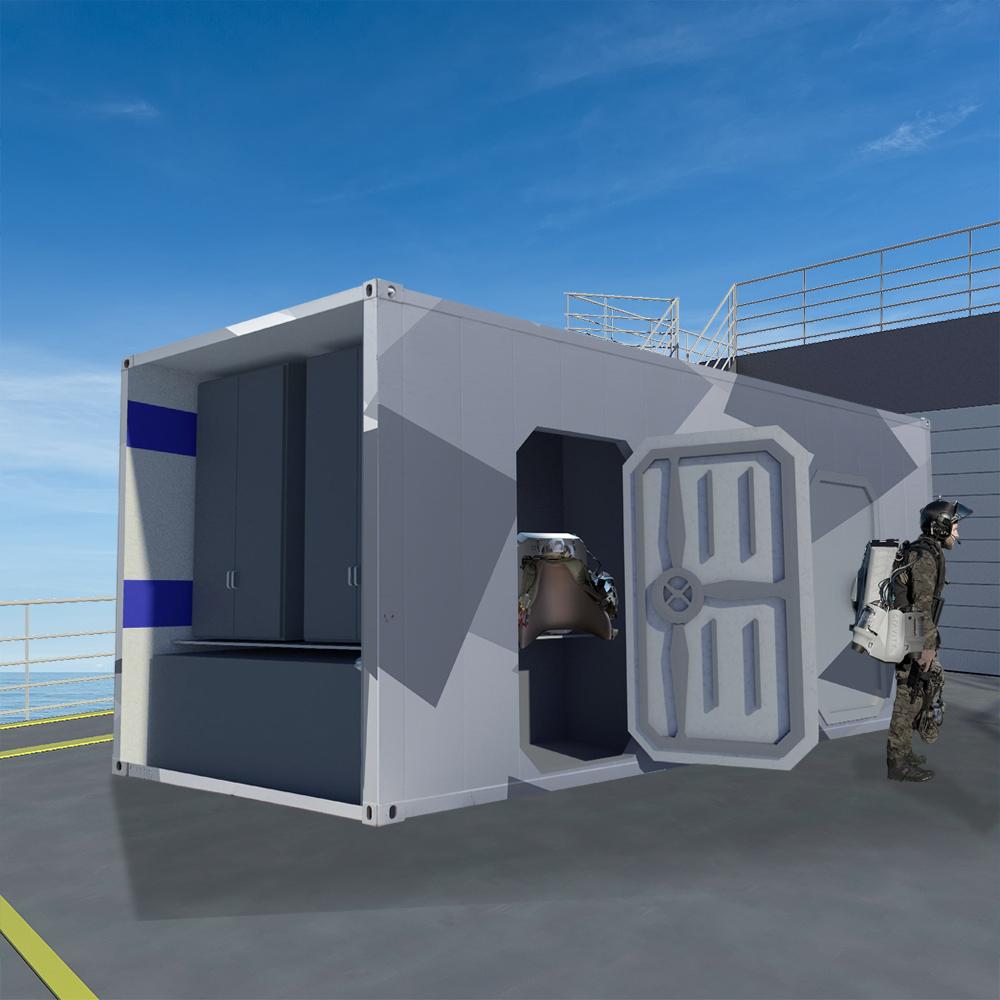 Mission Modules: Gravity Jet Suit Pods