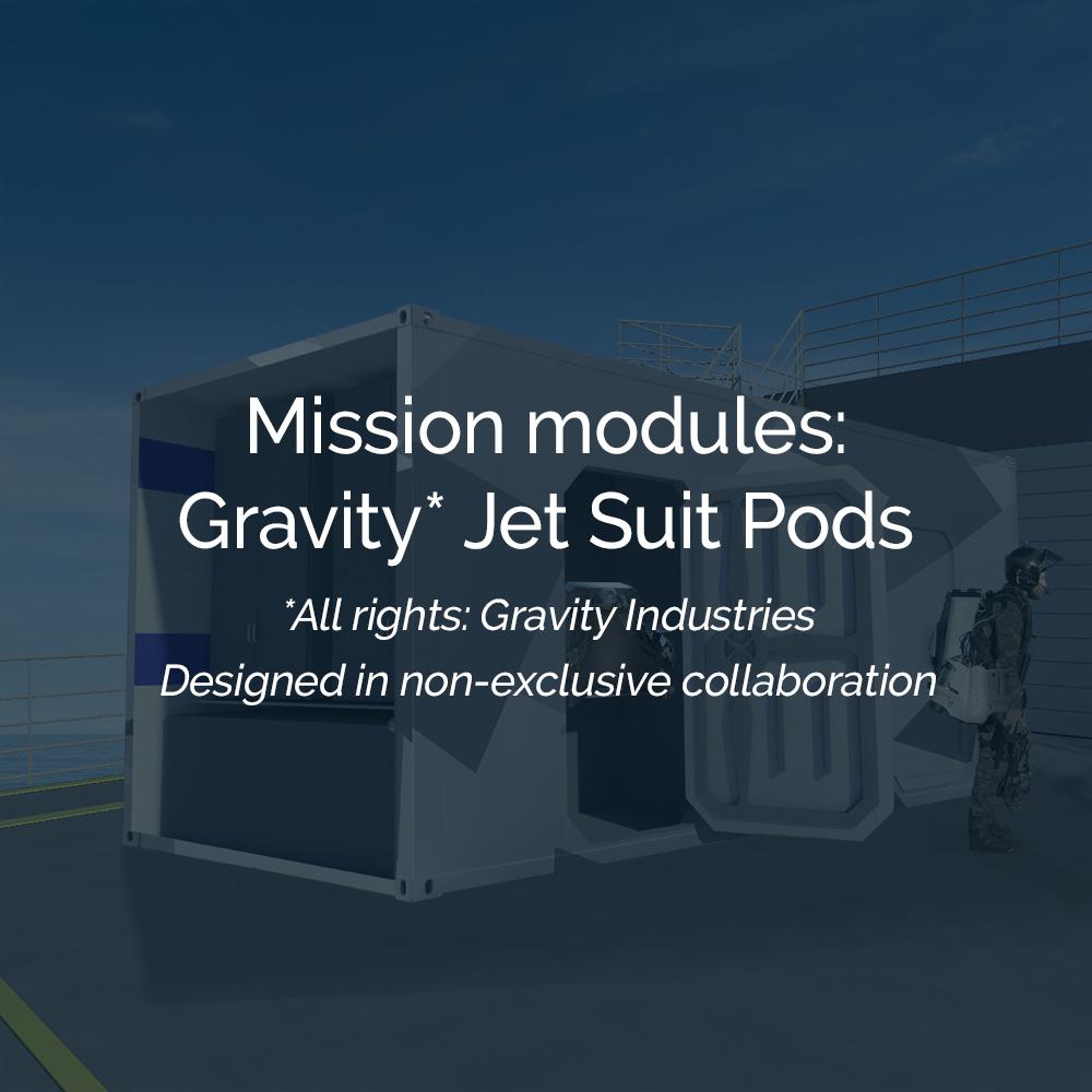Gravity Jet Suit Pods